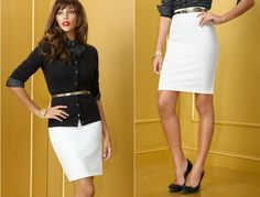 pencil skirt with cardigan - Google Search