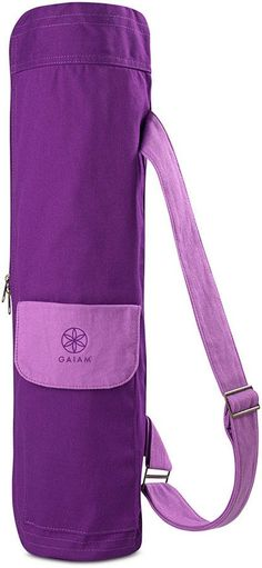 Gaiam Yoga Mat Bag / purple