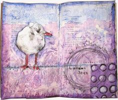 froebelsternchen: Art Journal Journey - OUR NEW THEME