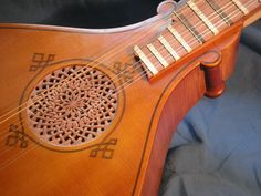 4 course chromatic cittern by Ludwig Friess, 2007