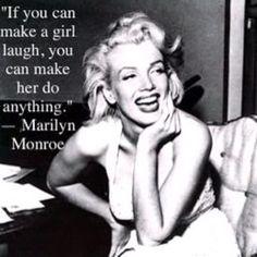 He makes me laugh:)