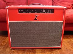 Someday, I will have one of these amps. And that day will be a loud day. (Dr. Z guitar amp)