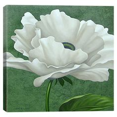 Add gallery-worthy appeal to your walls with this canvas print, showcasing a lovely floral motif. Display it alone as an artful focal point or group it with ...