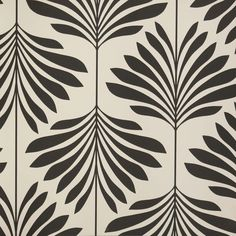 Globaltex / Vogue Wallpaper Black-White (W0003/04) - Clarke & Clarke Couture Wallpapers Collection