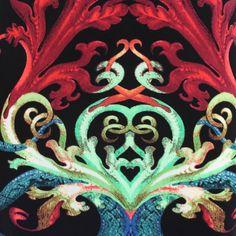 Roberto Cavalli Multicolored Viscose Dress   1stdibs.com