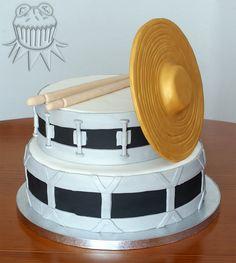 Bada Dum Tsss!! Cake Drummer cake Tarta para un percusionista