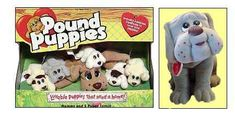 I treated my adorable little pound puppies like they were REAL.  They wore the cutest little diapers.