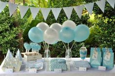 Blue Bird Birthday Party Ideas | Photo 1 of 6 | Catch My Party
