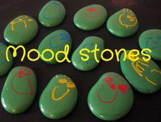Happy Whimsical Hearts: Mood stones