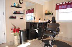 Salon in my home:)