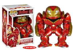 The hulk buster suit looks awesome! New AVENGERS: AGE OF ULTRON Merch; 'Hulkbuster' POP! Vinyl, Plush Dolls And Snapbacks