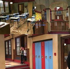 The set of girl meets world