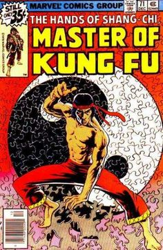 THE HANDS OF SHANG-CHI MASTER OF KUNG FU 71 BRONZE AGE MARVEL COMICS