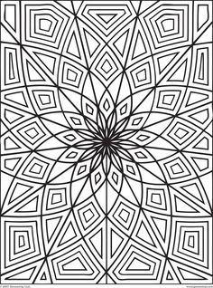 optical illusion coloring page - Kids Coloring Book