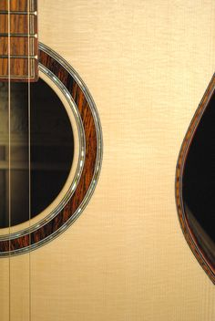 Joel Stehr guitar with cocobolo trim. When I grow up...