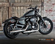 "2016 Harley Davidson Sportster 883 ""Iron"""
