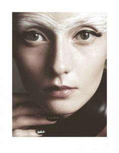 Alexa Yudina for Tush Magazine, FW 2013. Photographed by Benjamin Vnuk, Hair by Linda Shalabi, Makeup by Katarina Hakansson.