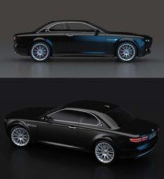 BMW CS Vintage concept