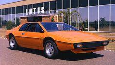 1976 Lotus Esprit S1, designed by Giorgetto Giugiaro