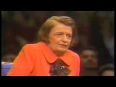 """Ayn Rand-""""I'm a male chauvinist,"""" she told an interviewer who asked her about women's liberation. """"I am profoundly anti-feminist because it's a phony movement,"""" she told another. The prospect of a female president disgusted her: """"She would become the most unfeminine, sexless, metaphysically inappropriate, and rationally revolting figure of all: a matriarch."""" (nymag.com 11-11-14 Maureen O'Connor)"""