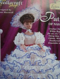 vintage southern belle with crochet skirt | Southern Belle Button Doll-Free Pattern « Cobblerscabin's Weblog