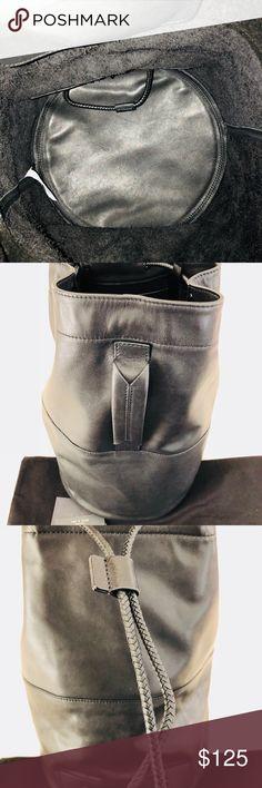 1182885bf37 Rag   Bone Rag   Bone of New York black all leather satchel that can be