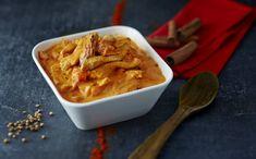 Poulet au garam massala #AuchanEtMoi #auchan Thai Red Curry, Macaroni And Cheese, Ethnic Recipes, Filets, Desserts, Garam Masala, Place, Food, Chicken Strips