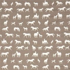 taupe with light cream horse birch knit organic fabric from the USA