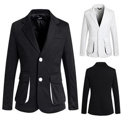 Two Button Casual Style Men's Fashion Blazer Mens Fashion Blazer, Men's Fashion, Blazers For Men, Buttons, Casual, Jackets, Clothes, Outfits, Collection