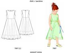 cartamodelli cucito vestiti alla moda per ragazze - Cerca con Google