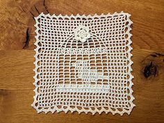 Bird cage doily, The bird cage is equally a home for your chickens and an attractive tool. You are able to pick whatever you need among the bird cage designs and get far more unique images. Art Au Crochet, Crochet Birds, Crochet Pillow, Crochet Home, Thread Crochet, Cute Crochet, Filet Crochet Charts, Crochet Motifs, Crochet Blocks