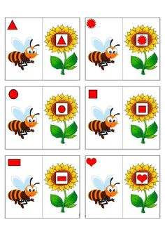 Fall Preschool Activities, Montessori Activities, Art For Kids, Crafts For Kids, Insect Crafts, Bee On Flower, Bee Theme, Bugs And Insects, Lessons For Kids