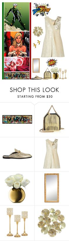 """""""Comic Books"""" by fashionqueen76 ❤ liked on Polyvore featuring Marvel, STELLA McCARTNEY, LSA International, Godinger and Elico Ltd."""