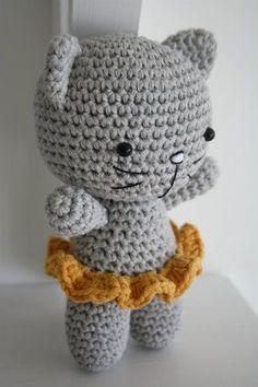 kostenlos amigurumi Katze Muster (7)