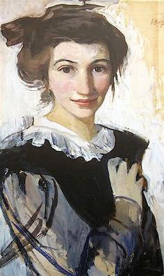 Zinaida Serebriakova self-portrait-1907