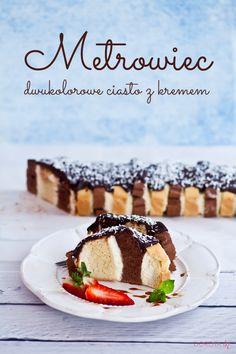 #przepis na ciasto metrowiec czyli #ciasto z metra cięte ;).   http://dorota.in/metrowiec/  #wypieki