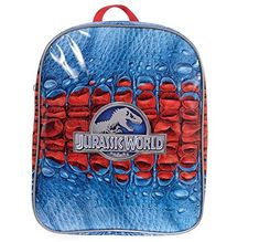 Jurassic World Kids Backpack School Bag Rucksack Jurassic Park @ niftywarehouse.com