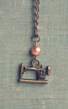 the seamstress necklace