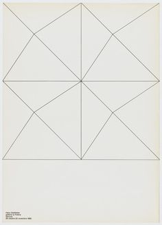 Hans Glattfelder A. G. Fronzoni (Italian, 1923-2002) MOMA http://www.moma.org/collection/browse_results.php?object_id=142254