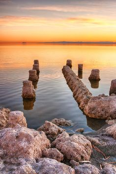 Old and Decayed, Bombay Beach, Salton Sea, CA Salton Sea, Celestial, Sunset, Beach, Nature, Travel, Outdoor, Landscapes, Outdoors
