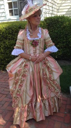 Gown styled after the duchess movie custom made by smiling fox forge 18th Century Clothing, 18th Century Fashion, Louis Xvi, 1800s Dresses, 18th Century Costume, Georgian Era, Rococo Style, Costumes, Costume Ideas