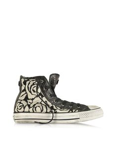 a46fd873fafbbd Converse Limited Edition Designer Shoes All Star HI White Roses Canvas and  Textile LTD Sneaker