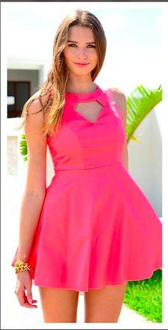 Beautiful Pink summer dress :**