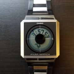 94045c23fea Casio Film Watch FS-02 Rare Collection Relógio Casio