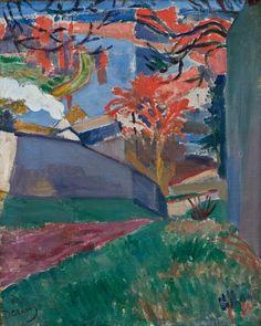 """a-la-belle-e-toile: """" André Derain - Bougival, huile sur toile, x cm © MuMa Le Havre """" Henri Matisse, André Derain, Raoul Dufy, Vincent Van Gogh, Art Fauvisme, Maurice De Vlaminck, Georges Braque, Le Havre, Post Impressionism"""
