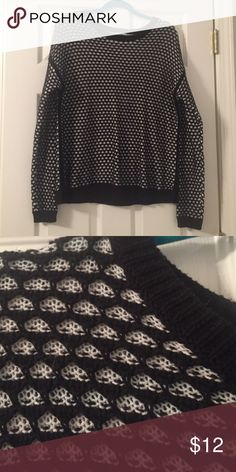 Waffle Knit Sweater Waffle knit sweater from Old Navy. Worn once! Old Navy Tops
