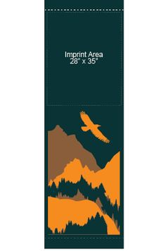 Mountains - Stock banner 14206 Screen print outdoor fabric banners by Consort Display Group. #screenprint