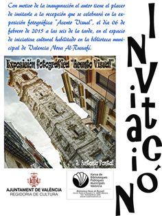 Invitación inauguración exposición el día 6 de febrero a las 18 h.