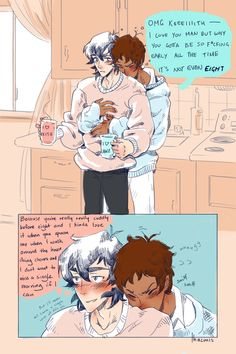 Just some cute comic pictures of Klance None of these pictures are… #random Random #amreading #books #wattpad