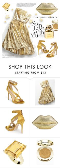 """""""Formal"""" by zon-vito ❤ liked on Polyvore featuring Imagine by Vince Camuto, Free People, Lulu Guinness, StyleRocks, Milani and Marc Jacobs"""